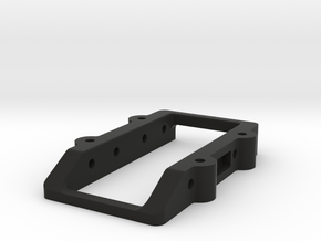 CRC WTF-1 Shorty Servo Mount in Black Natural Versatile Plastic