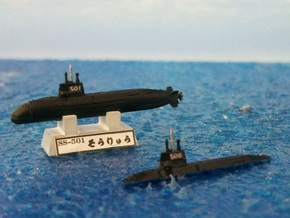 1/2000 JS Sōryū-class submarine in Smooth Fine Detail Plastic