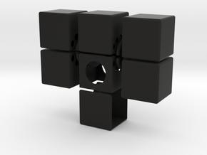 Easy Cuboid: 1x2x3 in Black Strong & Flexible