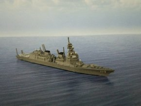 1/2000 JS Asahi-class destroyer in Smooth Fine Detail Plastic