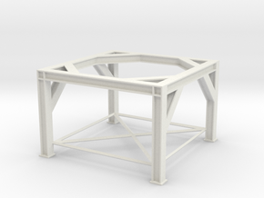 1/64 Overhead Bin Structure in White Natural Versatile Plastic