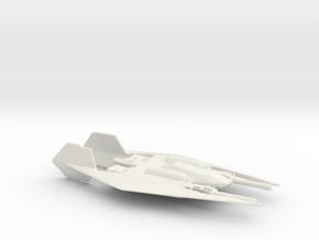 Narn Frazi Fighter (Babylon 5), 1/270 in White Strong & Flexible