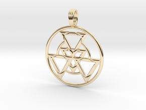 FRACTAL FORCE in 14K Yellow Gold