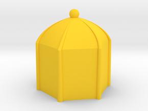 MILOSAURUS Chess Shatranj Pawn (sarbaz) in Yellow Processed Versatile Plastic
