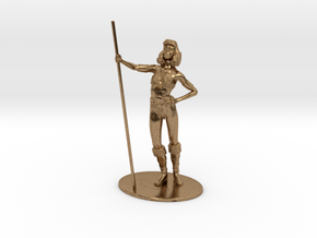 Diana (Acrobat) Miniature in Natural Brass: 1:60.96