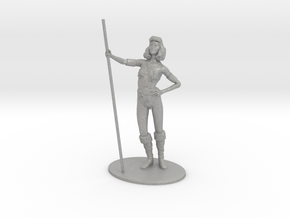 Diana (Acrobat) Miniature in Raw Aluminum: 1:60.96