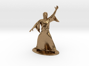 Magic-User Miniature in Natural Brass: 1:60.96