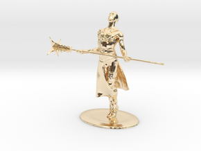 Giant Slayer Miniature in 14K Gold: 1:60.96