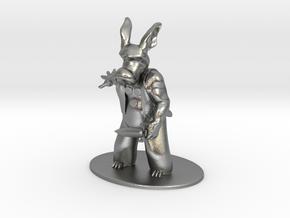 Cerebus the Aardvark Miniature in Natural Silver: 1:60.96