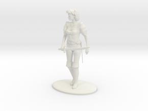 Maquesta Kar-Thon Miniature in White Natural Versatile Plastic: 1:60.96