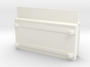 S2-229  Fahrplankasten in White Processed Versatile Plastic