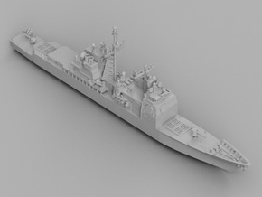 1/1800 USS Bunker Hill in Frosted Ultra Detail