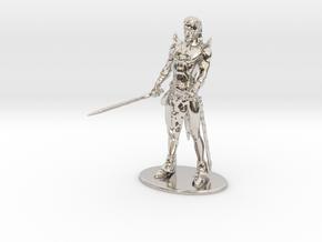 Elric of Melniboné Miniature in Platinum: 1:60.96