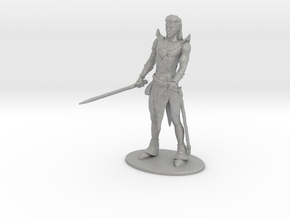 Elric of Melniboné Miniature in Raw Aluminum: 1:60.96