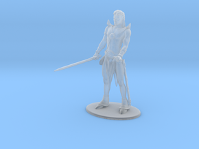 Elric of Melniboné Miniature in Smooth Fine Detail Plastic: 1:60.96
