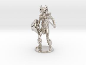 Warduke  Miniature in Platinum: 1:60.96