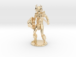 Warduke  Miniature in 14k Gold Plated: 1:60.96