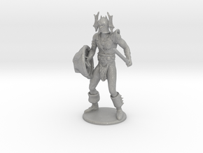 Warduke  Miniature in Raw Aluminum: 1:60.96