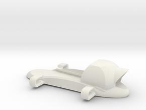 FPV Backpack for Fatshark Cased VTx and camera in White Natural Versatile Plastic