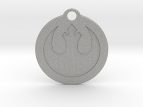 Star Wars Keychain - Rebel Alliance in Aluminum