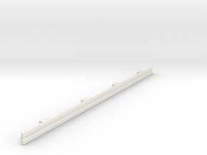 Für Anki Overdrive - Leitplanke Gerade V3 in White Natural Versatile Plastic