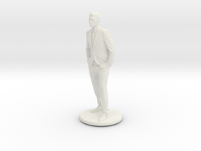 Printle C Homme 005 - 1/64 in White Strong & Flexible