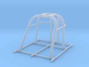 dragster cage, Jody in Smooth Fine Detail Plastic
