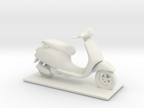 Printle Scooter in White Strong & Flexible