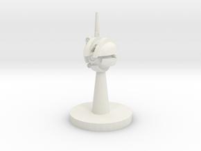 Camera Droid in White Natural Versatile Plastic