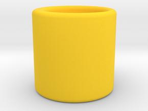 簡約馬克杯.stl in Yellow Processed Versatile Plastic