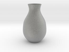 Vase in Metallic Plastic