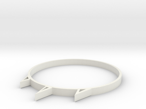 Rock in White Strong & Flexible: Medium