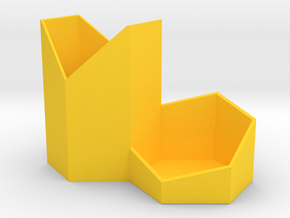 honeycomb tub in Yellow Strong & Flexible Polished: Medium