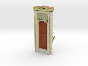 Mehrab_Door (2/3) in Full Color Sandstone