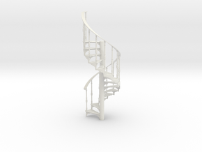 S-12-spiral-stairs-market-1b in White Natural Versatile Plastic