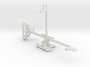 Allview P6 Energy Lite tripod & stabilizer mount in White Natural Versatile Plastic