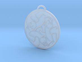 Merida's Celtic Bear Pendant/Keyring in Smooth Fine Detail Plastic