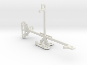 Intex Aqua Craze tripod & stabilizer mount in White Natural Versatile Plastic