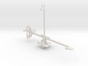 Posh Equal Pro LTE L700 tripod & stabilizer mount in White Natural Versatile Plastic