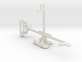 QMobile T50 Bolt tripod & stabilizer mount in White Natural Versatile Plastic