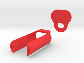 Xiaomi Notebook Charger EU Plug Case in Red Processed Versatile Plastic