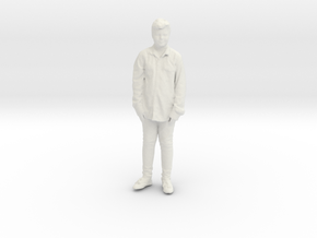 Printle C Kid 020 - 1/24 - wob in White Natural Versatile Plastic