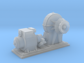 1/48 IJN Electric Deck Winch in Smooth Fine Detail Plastic