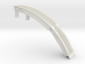 TM01 Utility Arm Backplate CSL in White Strong & Flexible