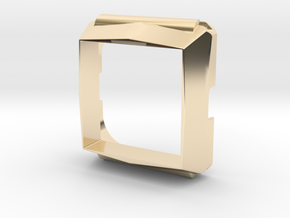 Timesquare wordclock housing in 14K Yellow Gold