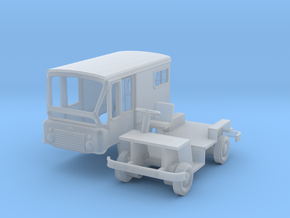 HO-Scale Jeep Fj-3 Postal Delivery FleetVan in Frosted Ultra Detail