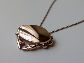 Crabby Love - Pendant in 14k Rose Gold Plated Brass