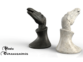 (Chess) Ouranosaurus Pawn in White Strong & Flexible