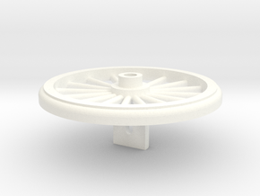 Wheel for Sunbeam's Great American Popcorn Machine in White Strong & Flexible Polished