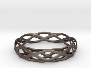 Magic Bracelet in Polished Bronzed Silver Steel